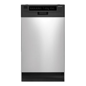 "Frigidaire 18"" Built-In Dishwasher - Black"