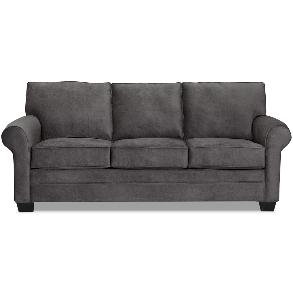 Danton Chenille Sofa in Charcoal