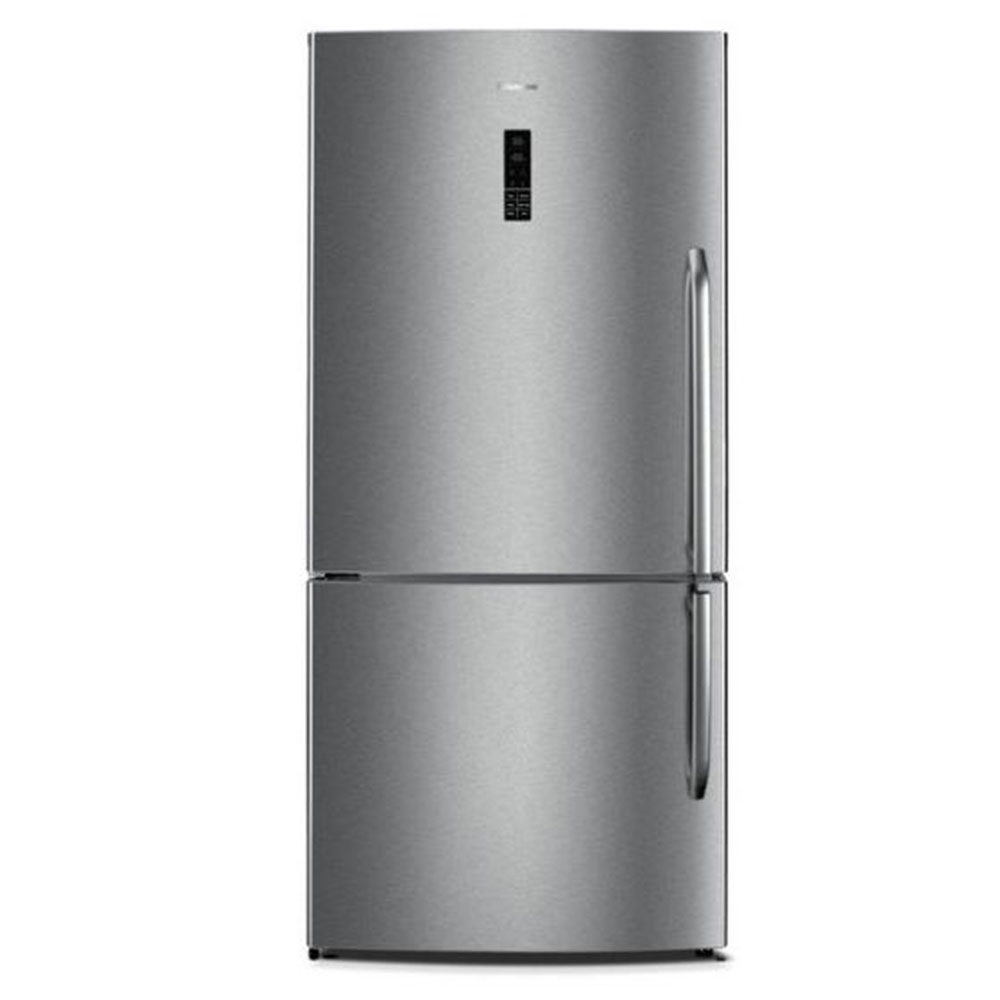 17 Cu.Ft. Bottom Mount Fridge  Left Swing  in Stainless Steel