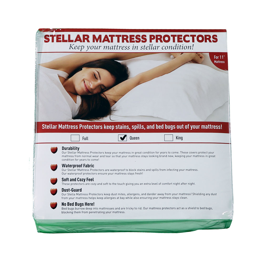 "Stellar Mattress ProtectorQueen Size 11"" depth"