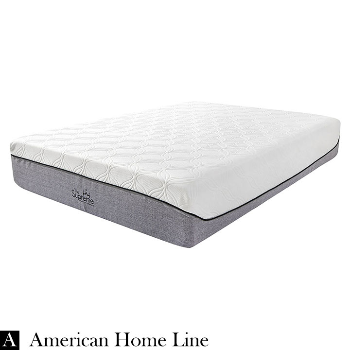 "The Supreme Hybrid 13"" King  Foam & Pocket Coil Mattress  Hypoallergenic Bamboo"