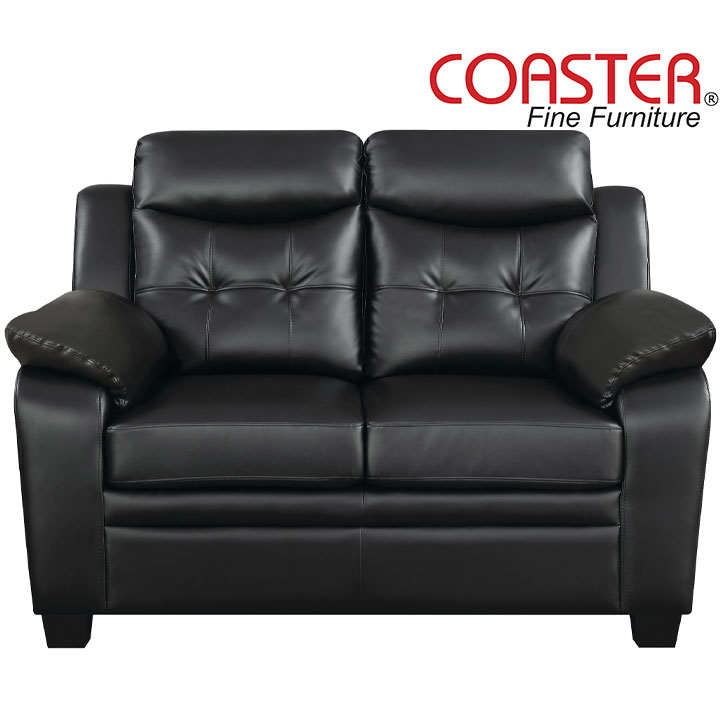 Finley Ultra Plush    Leatherette Loveseat  by Coaster