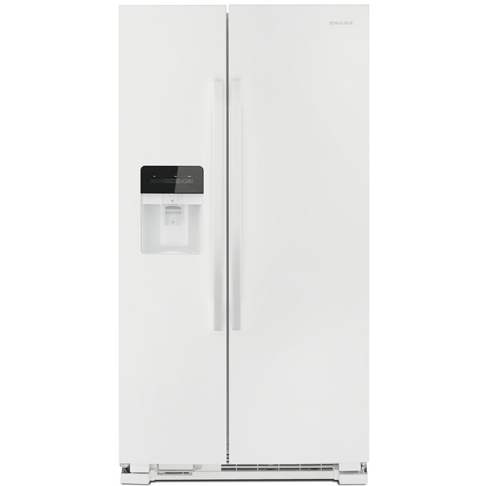 Amana 21 Cu. Ft. White Stainless   Side-By-Side Refrigerator