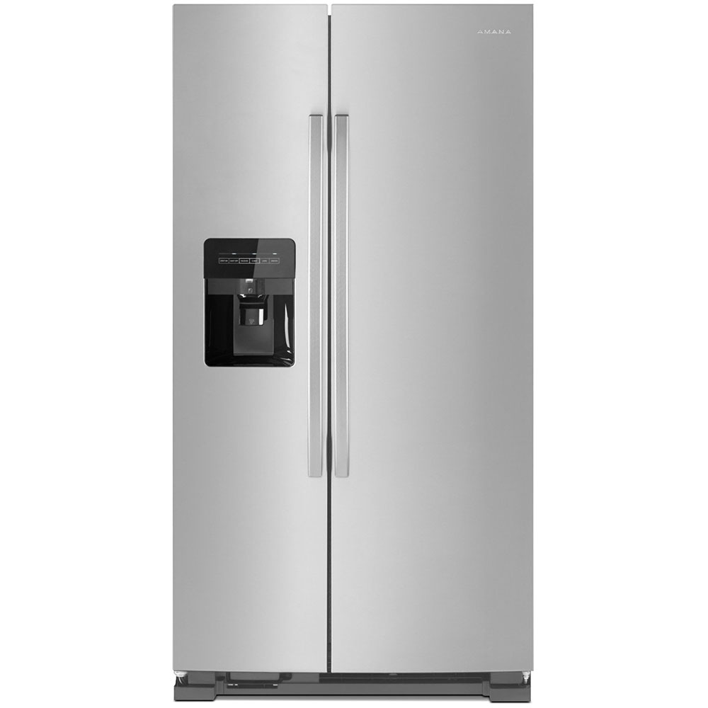Amana 21 Cu. Ft. Stainless  Side-By-Side Refrigerator