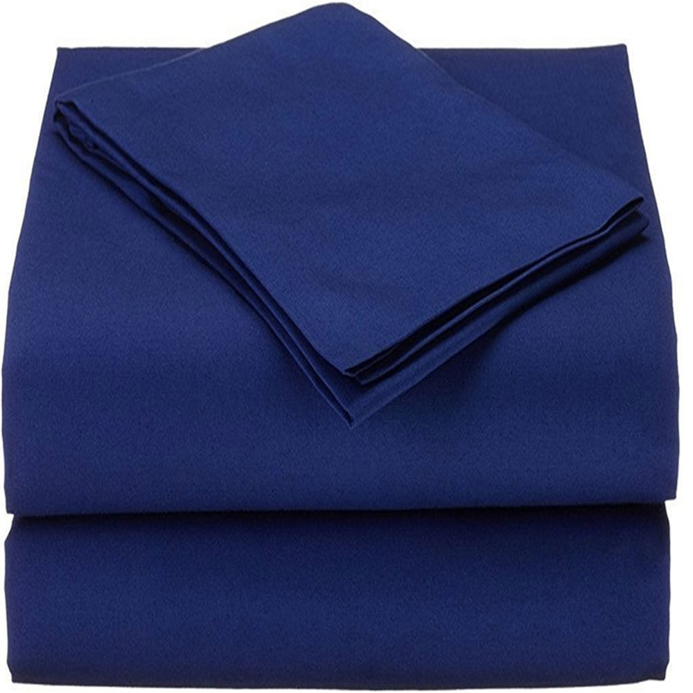 Spirit Premium  Queen Size Bed Sheets in Bahamian Blue