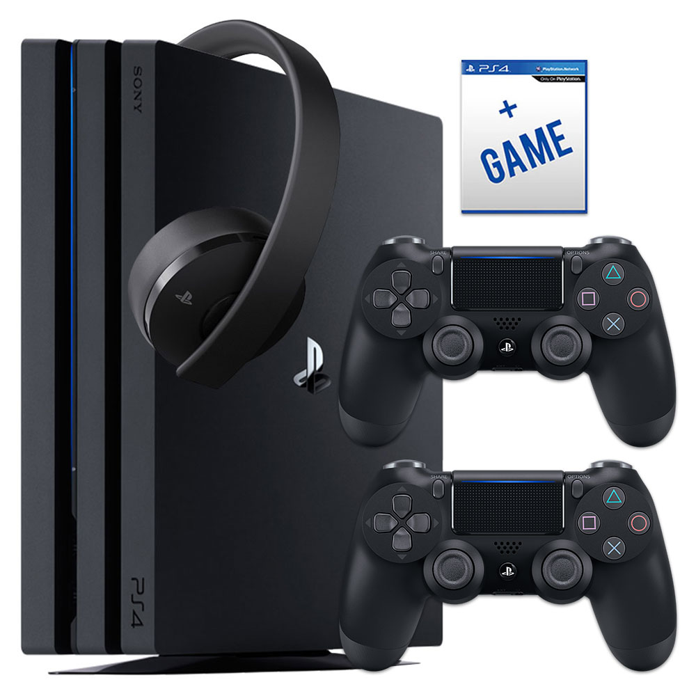 PlayStation 4 Pro 1TB Bundle