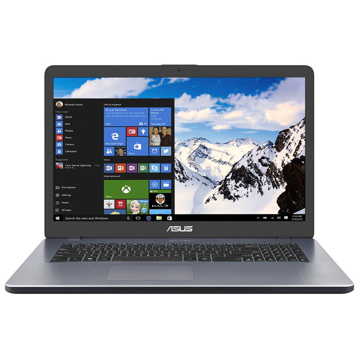 "Asus N5000 17.3"" Laptop  (Intel N5000/8GB RAM/1TB HDD/Windows 10)"
