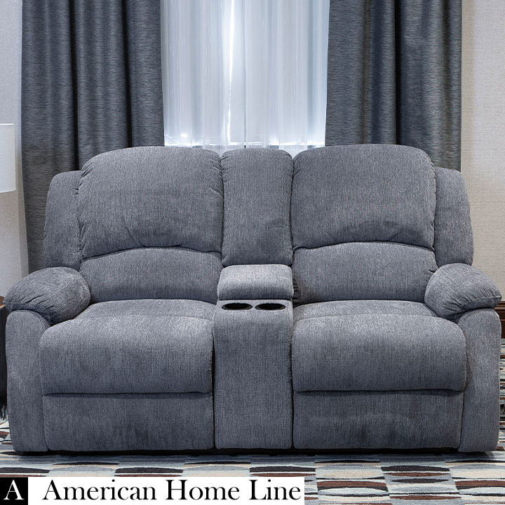 Crawford Luxury Recliner Loveseat