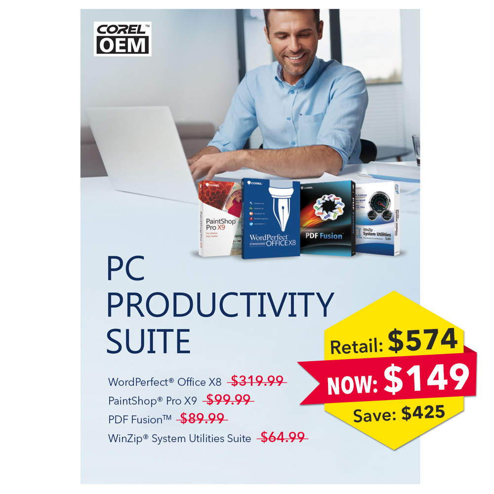 Corel PC Productivity Suite