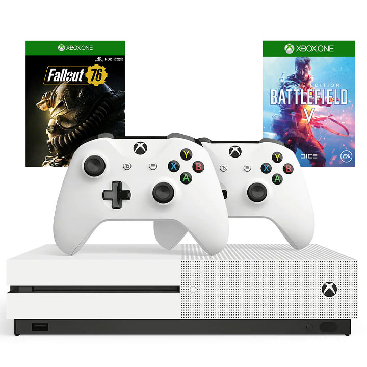 Xbox One S 1TB Battlefield V Bundle - Deluxe Edition