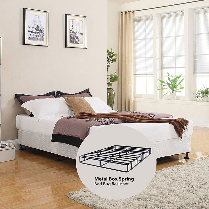 "Sleep Rest 13"" King Mattress Set Includes: Mattress and 2-in-1 Bed & Box Spring"