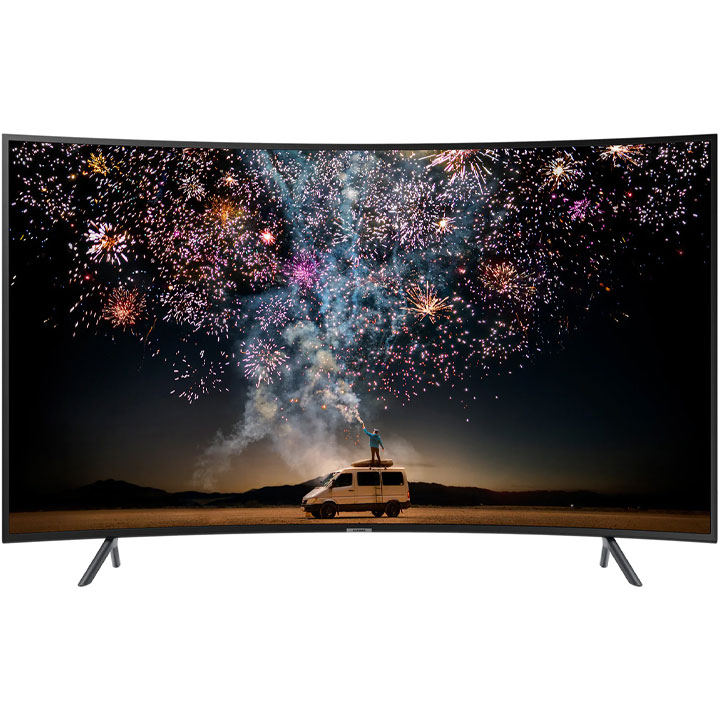 "Samsung 65"" UHD HDR 4K Curved LED RU7300 Smart TV"