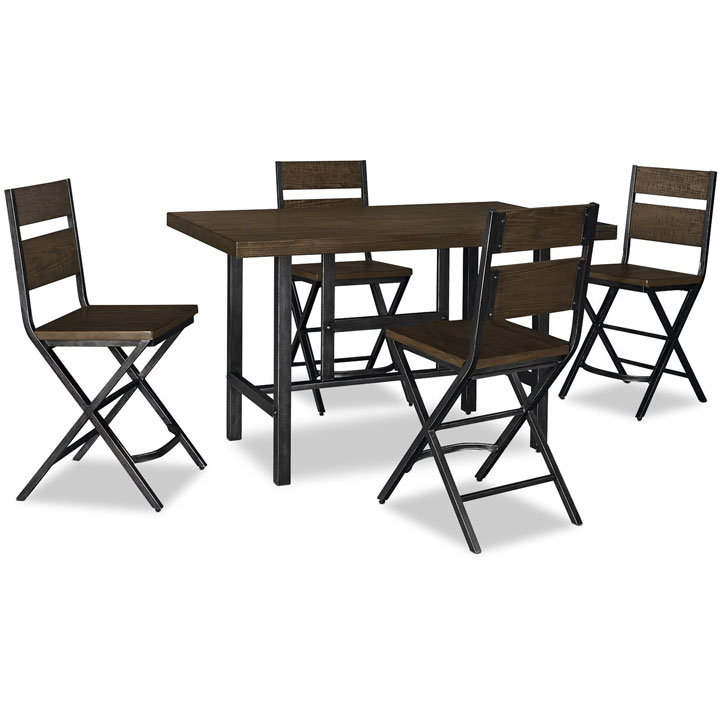 Kavara 5-Piece Counter-Height Dining Package