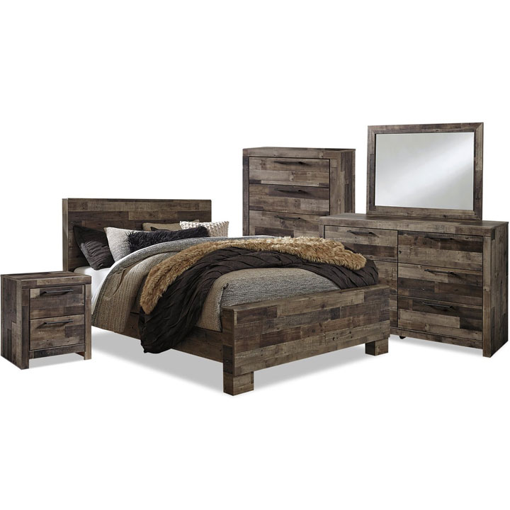 Derekson 7-Piece Queen Bedroom Package