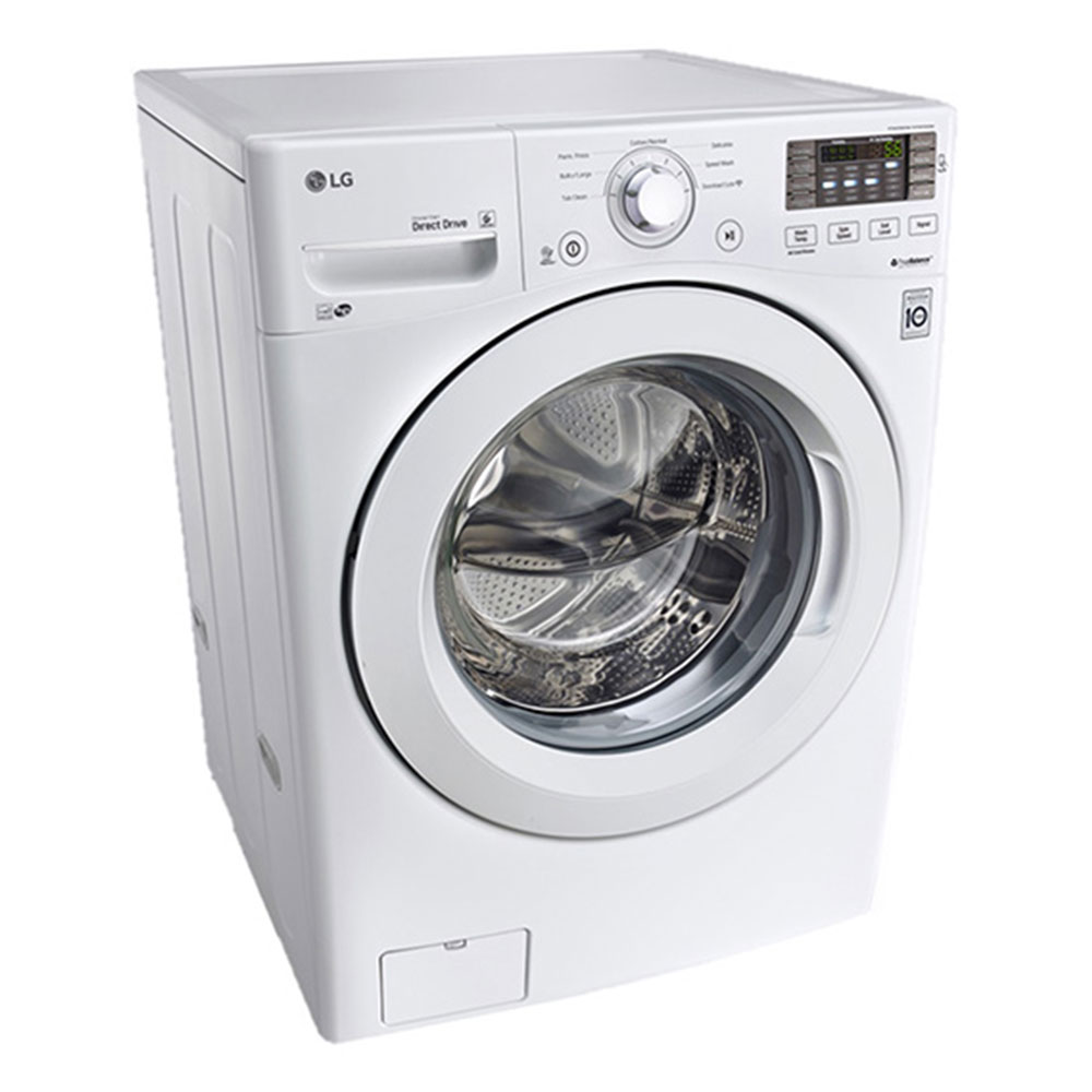 LG 5.2 cu.ft. Capacity Front Load Washer in White