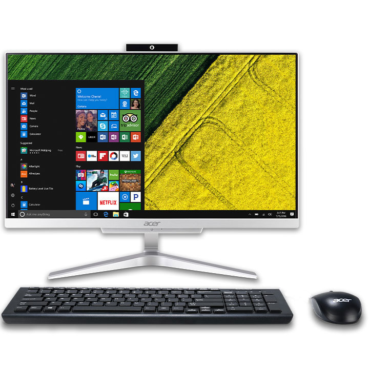 "Acer Aspire 21.5"" 4405U All-in-One Desktop ( Intel/ 8GB DDR4/ 1TB HDD/ Win 10 Home)"
