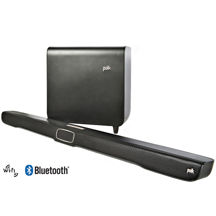 Polk Audio Omni SB1 Plus Home Theater Sound Bar System