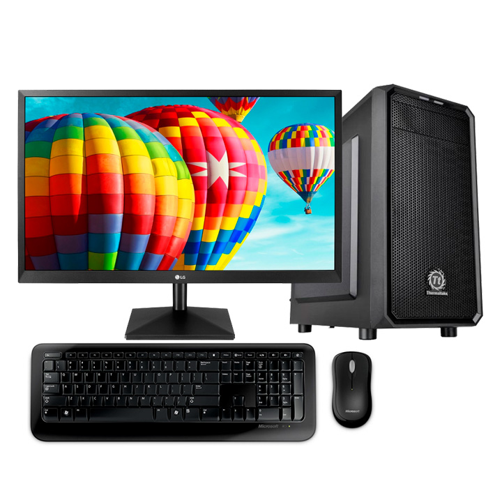 "MDG Vision i5-9600K (LG 27""/ Intel Core i5-9600K/ 16GB RAM/ 120GB SSD + 1TB HDD/ Win 10)"