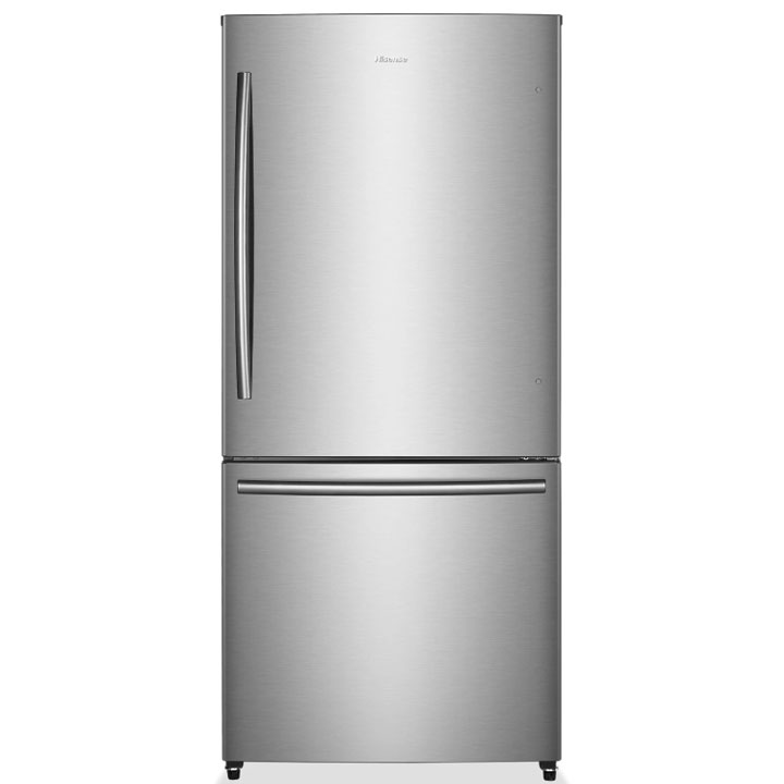Hisense 17 Cu. Ft. Bottom-Mount Counter-Depth Refrigerator (Stainless)
