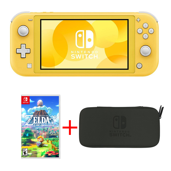 Nintendo Switch Lite - Yellow Bundle