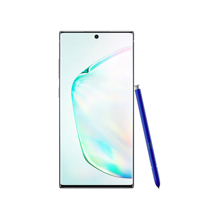 "Samsung Galaxy Note10+ 6.8"" 256GB Unlocked - Prism Silver"