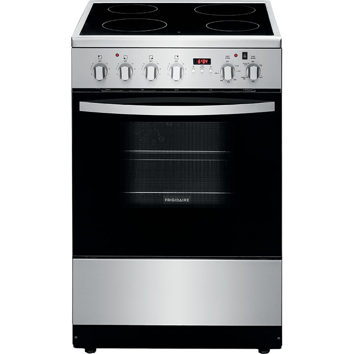 "Frigidaire 1.9 Cu. Ft. 24"" Stainless Steel Electric Range"