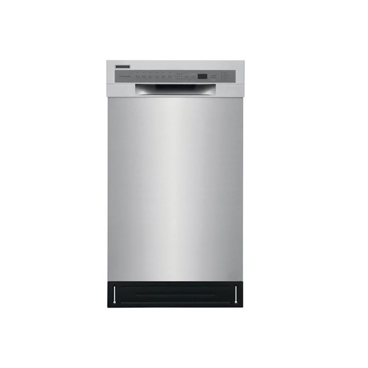 "Frigidaire 18"" built-in Dishwasher in Stainless Steel"