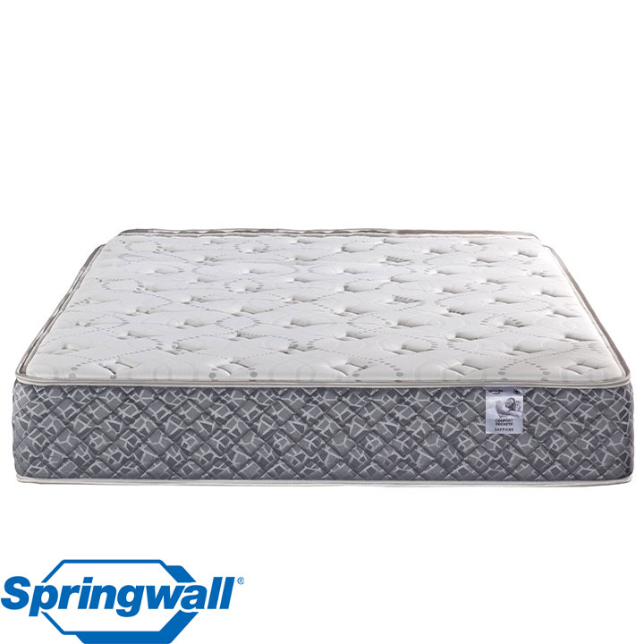 "Sapphire 11.5"" Tight Top Plush Pocket Coil King Mattress"
