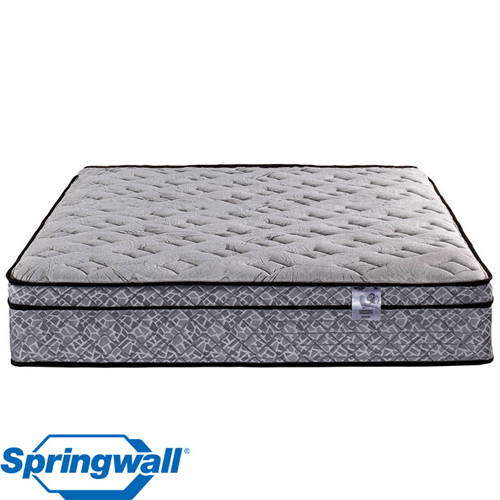 "Pearl 12"" Eurotop Luxury Firm Pocket Coil King Mattress"