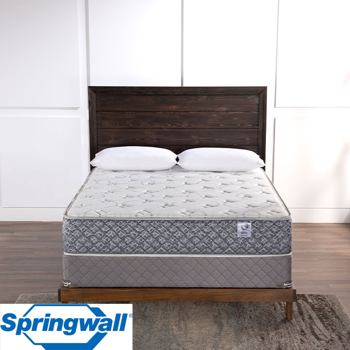 "Sapphire 11.5"" Tight Top Plush Pocket Coil King Mattress & King Boxspring"