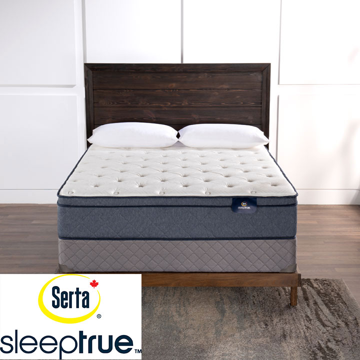 "Colette 11.5"" Eurotop Plush Pocket Coil King Mattress & King Boxspring"