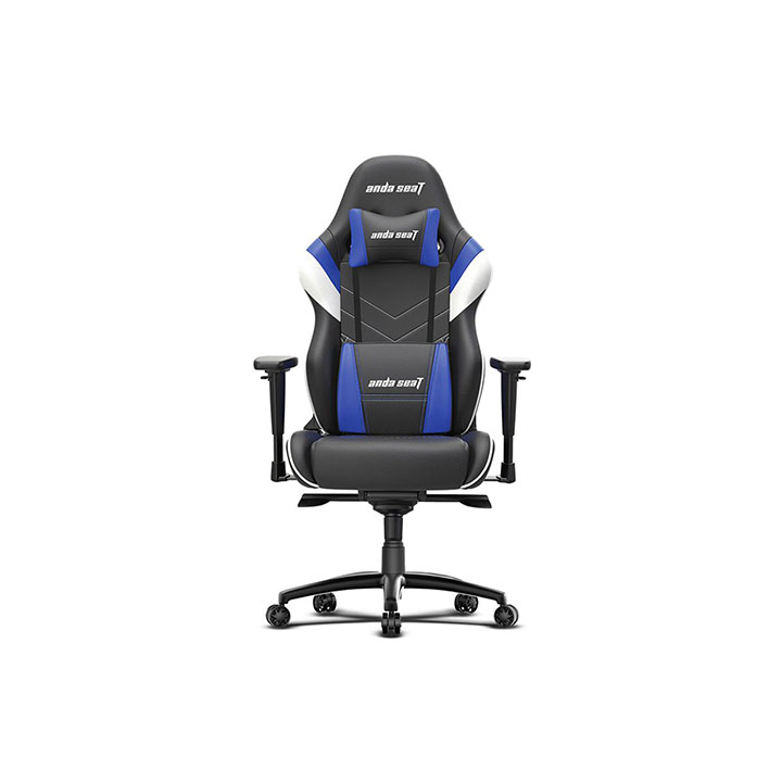 Anda Seat Assassin King Series Gaming Chair - Black/White/Blue
