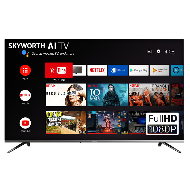 "Skyworth 40"" E2300 1080P FHD Smart TV"