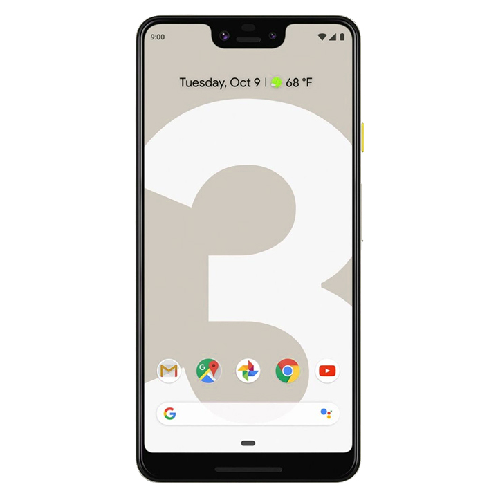 Google Pixel 3XL - Not Pink (Neutral taupe/128 GB Storage/4GB RAM/Android)
