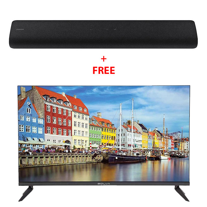 Samsung HW-S60T 4.0ch All-in-One Soundbar + FREE Bolva 32'' HD LED TV
