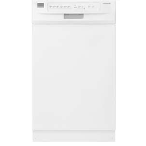 "Frigidaire 18""Built-In Dishwasherin White"