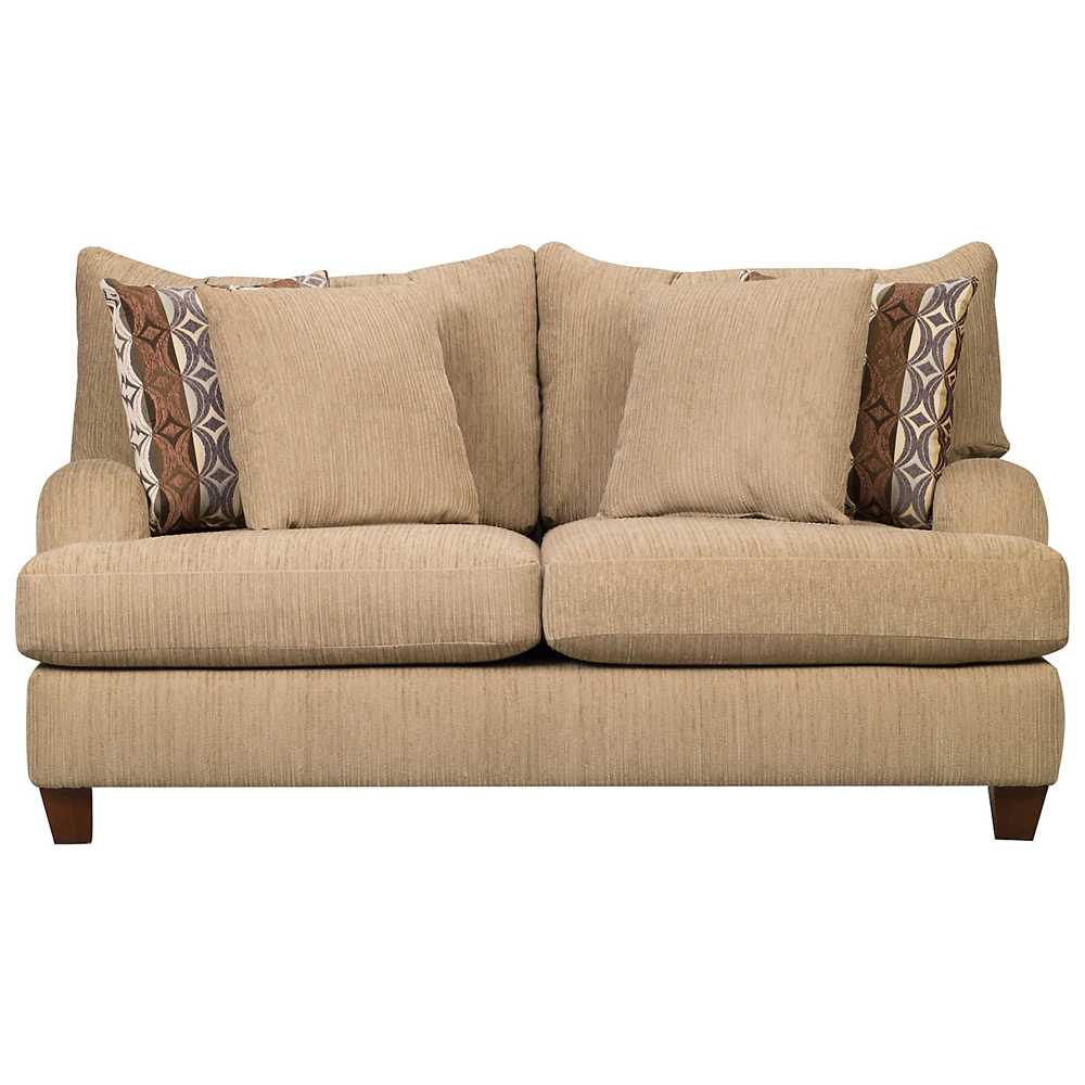 AlexaChenille Loveseat in Beige