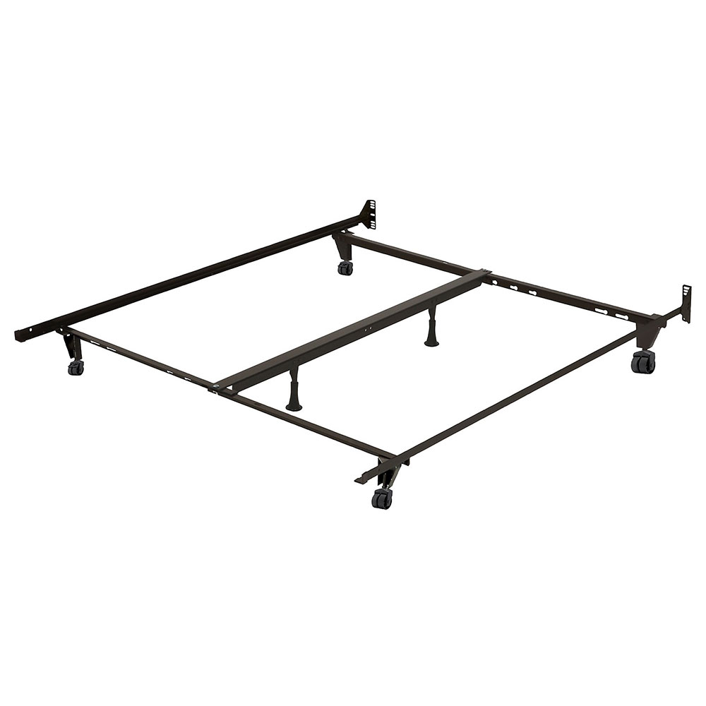 Metal Frame With Center Support For Twin Full