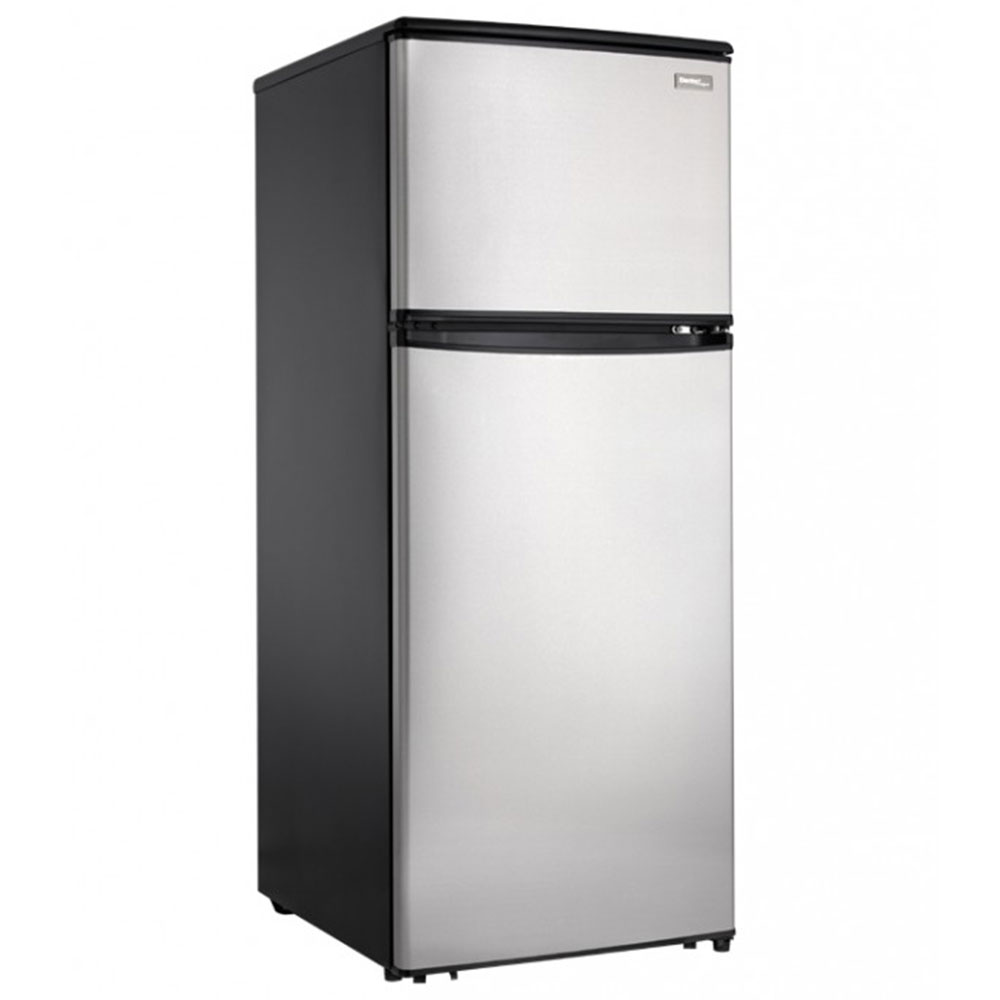 danby compact 11 cu ft fridge stainless steel. Black Bedroom Furniture Sets. Home Design Ideas