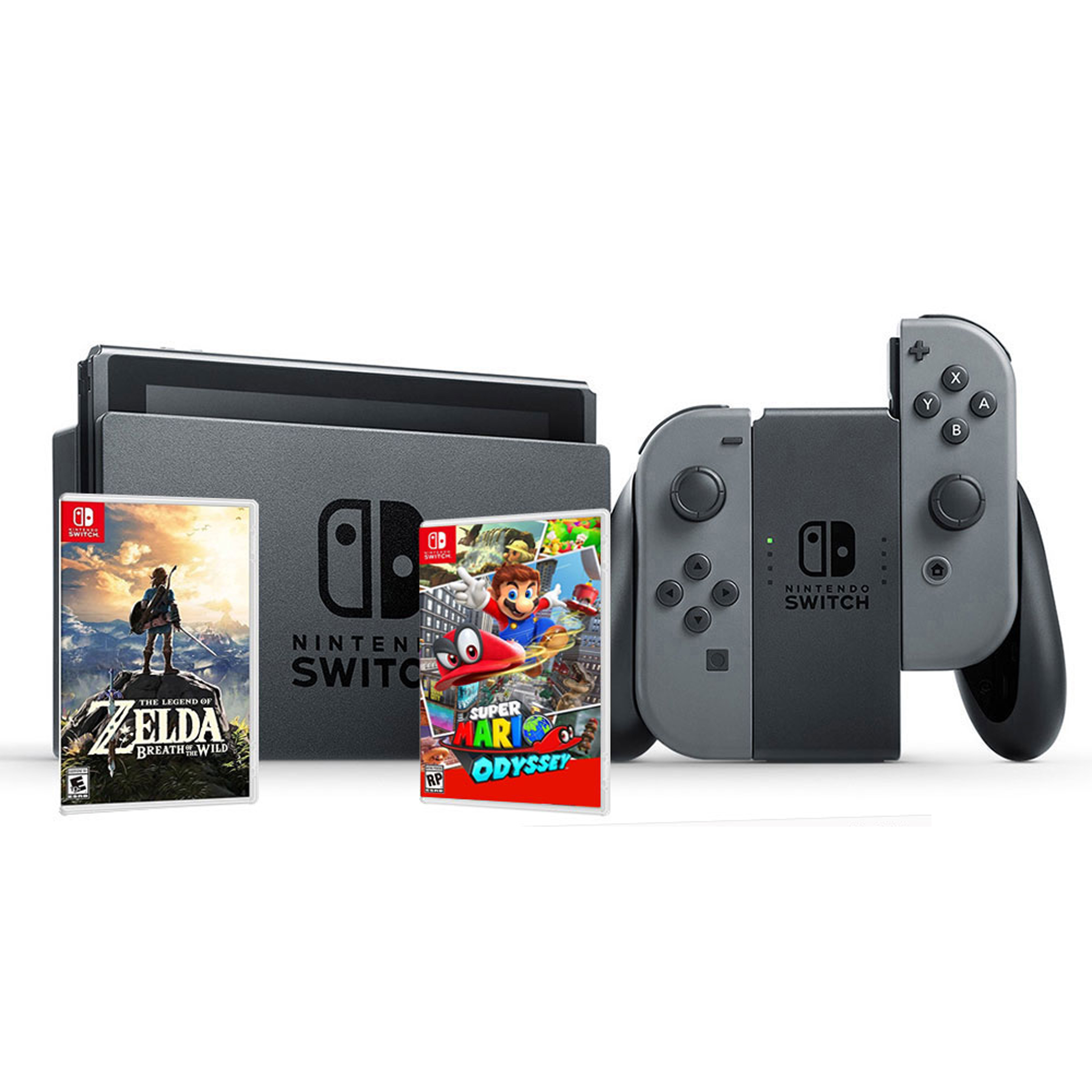 Offre groupée Nintendo Switch (Super Mario/Zelda)